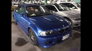 bmw car auctions bmw e46 m3 blue line exports japanese car auctions