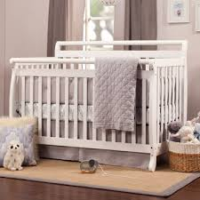 Davinci Emily Mini Crib White Davinci Emily 4 In 1 Crib White Simply Baby Furniture 179 00