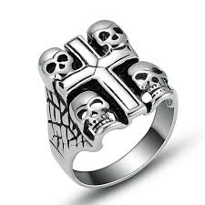 aliexpress buy new arrival fashion rings for men aliexpress buy new fashion stainless steel skull cross rings