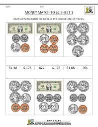 money worksheets grade 1 worksheets
