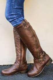 motorcycle boots boots brown leather boots makes any look better acetshirt