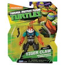 teenage mutant ninja turtles action figure tiger claw target