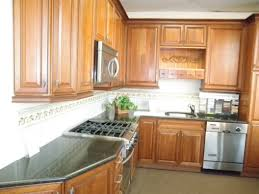 L Shaped Kitchens by Yellow Wall Paint Decoration In Modern Small Kitchen Design With