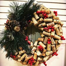 wine cork wreath 15 stylish things for your house that you can