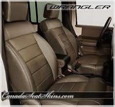 Jeep Wrangler Leather Interior Jeep Wrangler Black Interior Canadaseatskins Com Leather Jeep