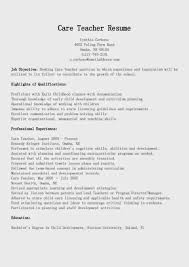 Sample Resume Objectives For Special Education Teachers by Resume For Hha Free Resume Example And Writing Download