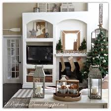 2perfection decor neutral christmas decor in our family room neutral christmas decor in our family room