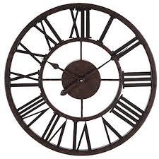 wall clock modern decorative 17 wall clock metal roman numeral wall decor nova68 com