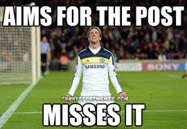 Funny Soccer Meme - hilarious socce memes aims for the post misses it
