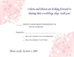 wedding rsvp wording exles sle wedding invitation rsvp wording rsvp wording rsvp