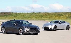 hyundai genesis vs nissan 370z 2013 scion fr s vs 2013 hyundai genesis coupe 2 0t r spec car