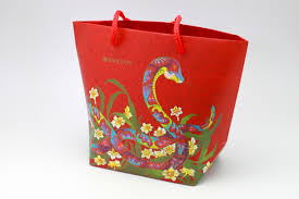 bag new year year of the snake packets bag barclays zenwu