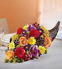cornucopia arrangements cornucopia flower arrangement a better bloom florist