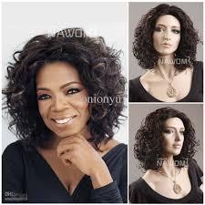 curly halloween wigs cheap 2013 black women african wigs oprah hair style halloween