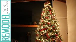 Fully Decorated Christmas Trees For Sale by Decorating A Christmas Tree With Dollar Store Ornamants For 50