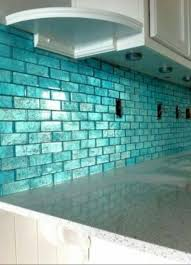 Aqua Glass Tile Backsplash Find This Pin And More On Glass U - Teal glass tile backsplash