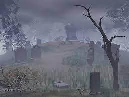 3d halloween background graveyard backgrounds wallpapersafari