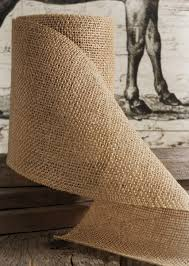 burlap ribbon ribbon 6 x 10 yards