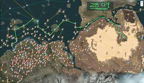 Get Out The Map Trading Route Fishing Epheria Port To Valencia Black Desert Online
