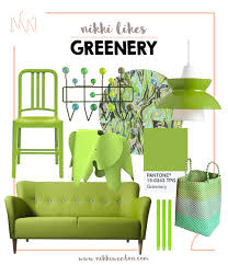 pantone colour of the year 2017 nikki weedon likes greenery pantone colour of the year 2017