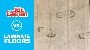 Vinegar To Clean Laminate Floors How To Clean Laminate Floors Mr Clean Youtube