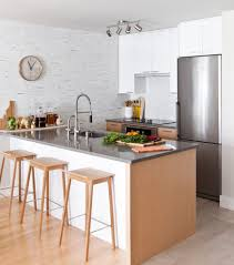 imaginative small galley kitchen designs with vancouver white cabinets