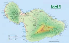 Molokai Map Maui Maps Go Hawaii