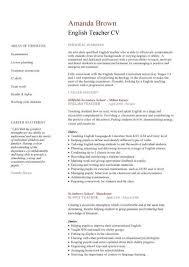 curriculum vitae exle for new teacher curriculum vitae exles for undergraduates europe tripsleep co
