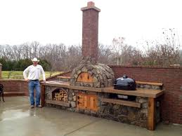 Cast Iron Outdoor Fireplace by Home Decor Outdoor Fireplace And Pizza Oven Stainless Steel Sink