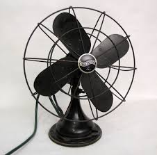 1930s westinghouse master aire desk fan works great just