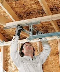 how do you install a garage door opener installing an overhead garage door