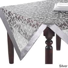 geometric design table topper runner or tablecloth free