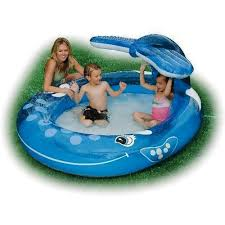 Intex Inflatable Pool Intex Inflatable Pool 57435 For Child Blue
