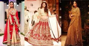 bridal wear an insight on bridal wear for indian brides fashionbuzzer