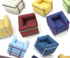 Lc2 Armchair Cassina Has Just Introduced Colored Versions Of The Modern And
