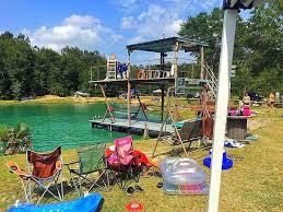 conroe u0027backyard u0027 waterpark turns a swimming hole into a country