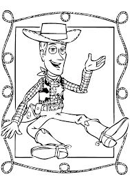 cowboy woody toy story coloring print free download