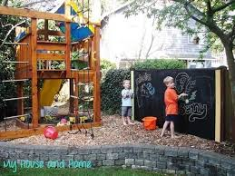 Cheap Backyard Playground Ideas Easy Diy Projects For Your Back Yard This Summer