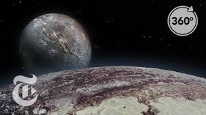 Seeking New York Seeking Pluto S Frigid 360 Vr The New York Times