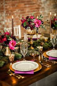 Pink And Gold Centerpieces by Sophisticated Elegance With Pink And Purple And Gold Bright Pink