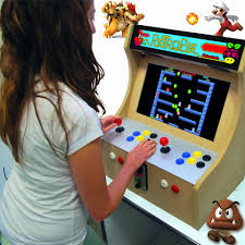 Tabletop Arcade Cabinet Buiding An Arcade Coin Op Machine To Rediscover The 80 90s With