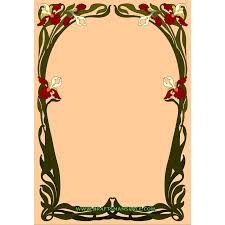 free border templates clipart library clip art library