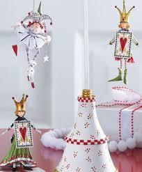 krinkles set of three bunnies mini easter ornaments dept 56 ebay