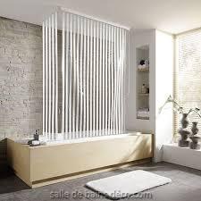 rideau de baignoire store d angle stripes salledebainsdeco