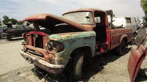 Vintage Ford Truck Junk Yards - junkyard find 1960 dodge d200 with genuine flathead power