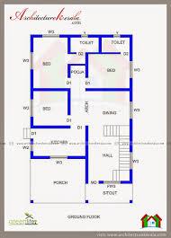house plans 1200 sq ft kerala house plan with estimate usable home plans pinterest 3