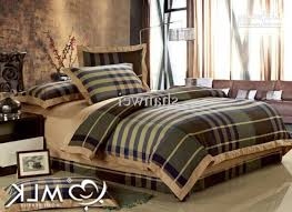 Plaid Bed Sets Top Quality Yarn Dyed 100 Cotton Plaid Duvet Cover Sheet Sets