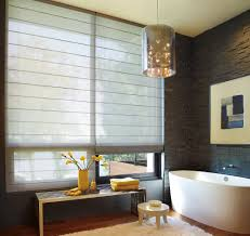 Window Treatment Ideas For Bathroom Bathroom Marvelous Window Decor With Chic Hunter Douglas Costco