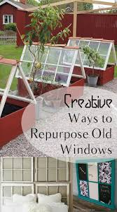 Upcycling Old Windows - creative ways to repurpose old windows how to build it