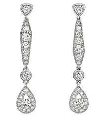 chaumet earrings chaumet joséphine 18ct white gold diamond earrings selfridges